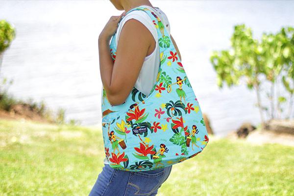 Hawaii Fabric Mart 187 Boho Sling Bags Hula Aqua