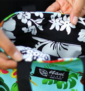 Tote Bags (Reversible) – Small Hula-Aqua