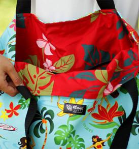 Tote Bags (Reversible) – XLarge – Hula Aqua