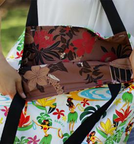 Tote Bags (Reversible) – XLarge – Hula Cream