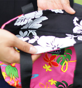 Tote Bags (Reversible) – Small Hula-Pink