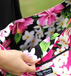 Reversible Sling Bags – Tropical Pink
