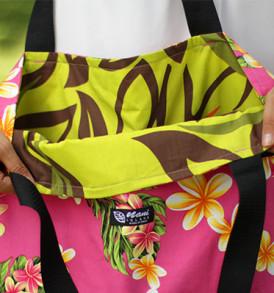Tote Bags (Reversible) – XLarge – Plumeria Pink