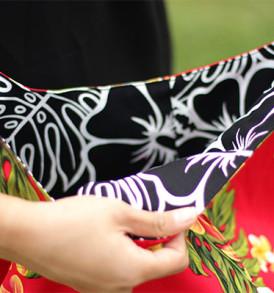 Reversible Sling Bags – Plumeria Red
