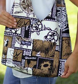 Boho Sling Bags – Tapa Hula Brown
