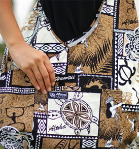 Boho Sling Crossbody – Tapa Hula Brown