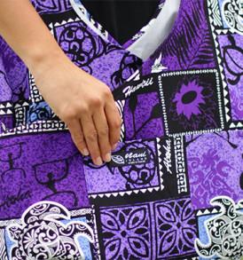 Boho Sling Crossbody – Tapa Hula Purple