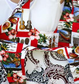 Reversible Hobo Bag Tribal-Cream