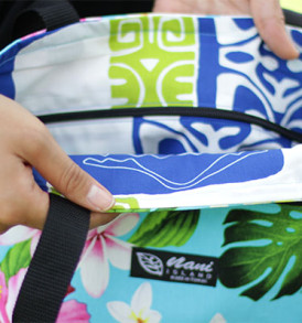Tote Bags (Reversible) – Medium – Tropical Aqua