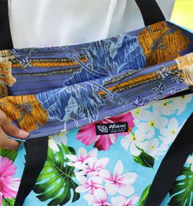 Tote Bags (Reversible) – XLarge – Tropical Aqua