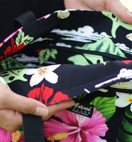 Tote Bags (Reversible) – Medium – Tropical Black