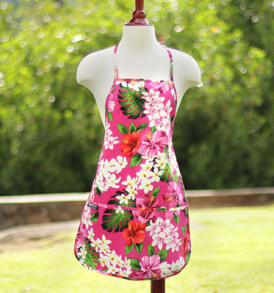 Adult Aprons – Tropical Pink