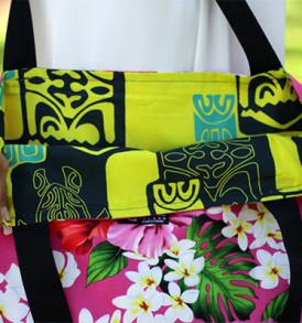 Tote Bags (Reversible) – XLarge – Tropical Pink