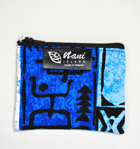 Cosmetic Pouch – Small – Stickman Blue