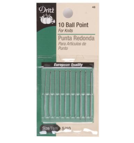 Dritz Ball Point Needles
