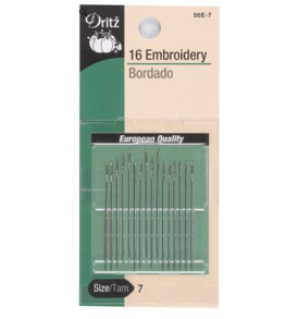 Dritz Embroidery Needles