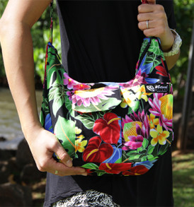 Purse – Large – Bloom Black
