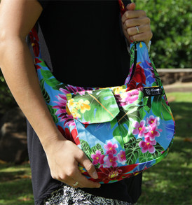 Purse – Large – Bloom Blue