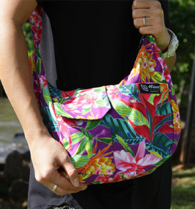 Purse – Large – Bloom Purple