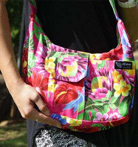 Purse – Large – Bloom Red