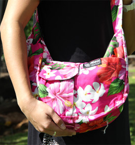 Purse – Large – Hibiscus Pink