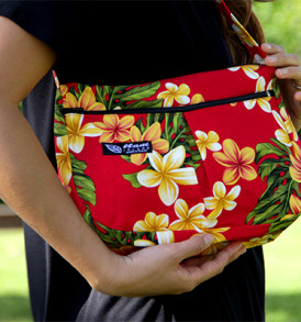 Purse – Small – Plumeria Red
