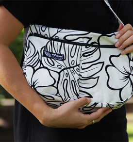 Purse – Small – Monstera White