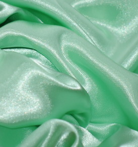Stretch Charmeuse Satin Mint