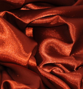 Stretch Charmeuse Satin Rust