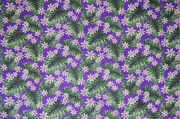 Hawaii Fabric Mart 187 Paa1136 Purple