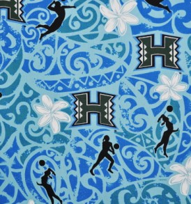 UH Tribal Volleyball Blue