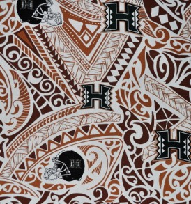 University of Hawaii Tribal Brown
