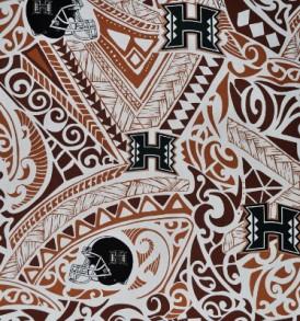 University of Hawaii Tribal Brown