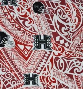 University of Hawaii Tribal Red