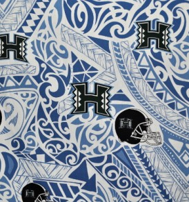 University of Hawaii Tribal Blue