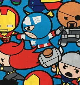 Kawai Avengers Blue