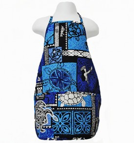 Kids Aprons – Honu Box Blue