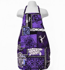 Kids Aprons – Honu Box Purple