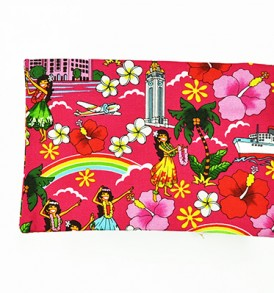 Canvas Coin Purse – Large Summer Time Pink