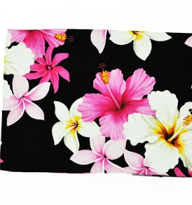 Cosmetic Pouch – Medium – Dream of Flower Black