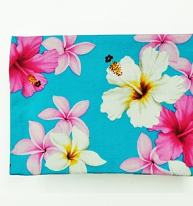 Cosmetic Pouch – Medium – Dream of Flower Blue