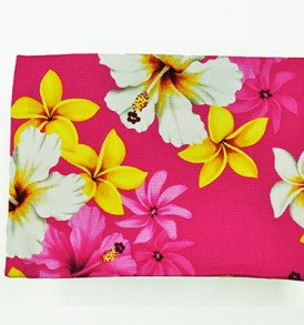Canvas Coin Purse – Large Dream of Flower Pink