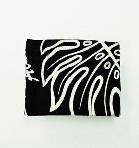 Cosmetic Pouch – Small – Monstera Lover Black