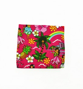 Canvas Coin Purse – Small Summer Time Pink