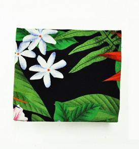 Canvas Coin Purse – Small Orchid Tiare