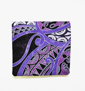 Canvas Coin Purse – Small Honua Purple