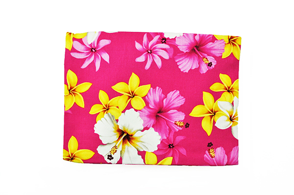 Canvas Zipper Pouch – Large Dream of Flower Pink