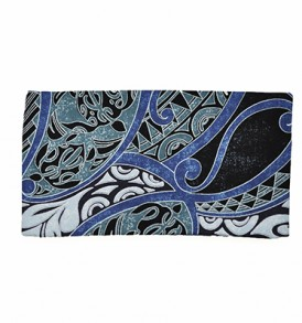 Canvas Zipper Pouch – Small Honua Blue