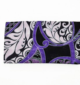Canvas Zipper Pouch – Small Honua Purple