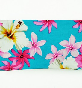 Canvas Zipper Pouch – Small Dream of Flower Blue
